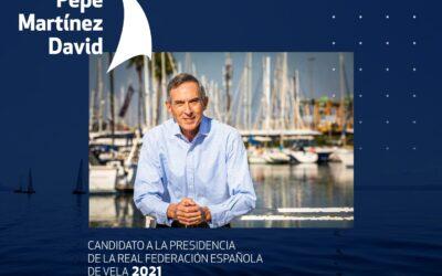 Pepe Martínez anuncia 10 medidas para renovar la vela española